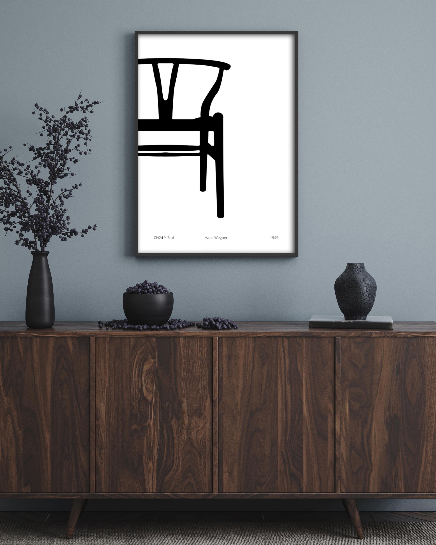 Artsy / artsy sort/hvid plakater